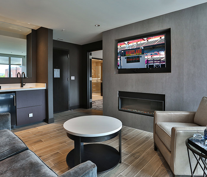 at home interior design. Suites The Hotel At University Of Maryland  College Park