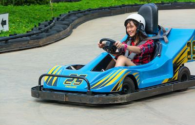 driving Go-kart